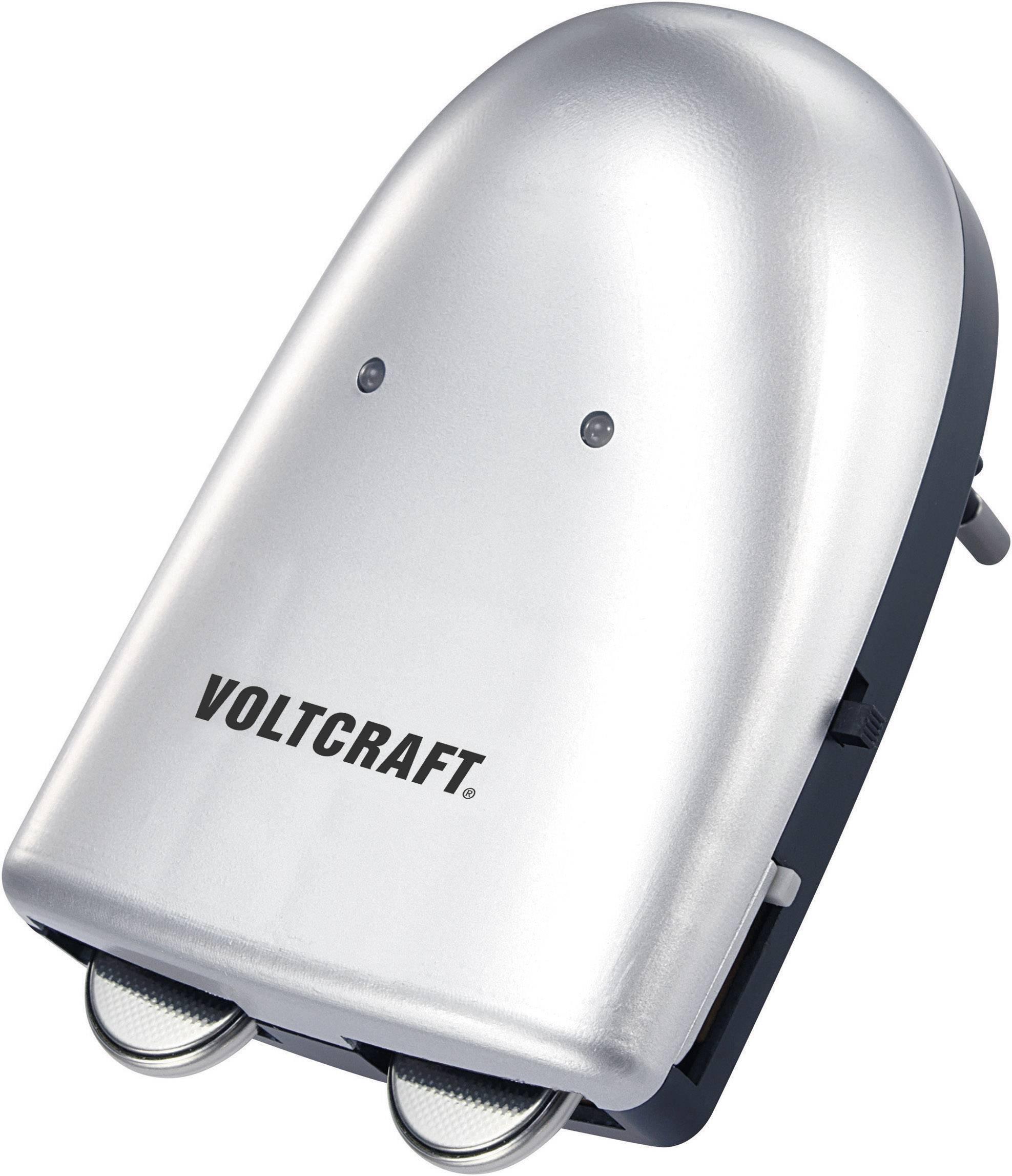 Lítiová gombíková nabíjačka Voltcraft