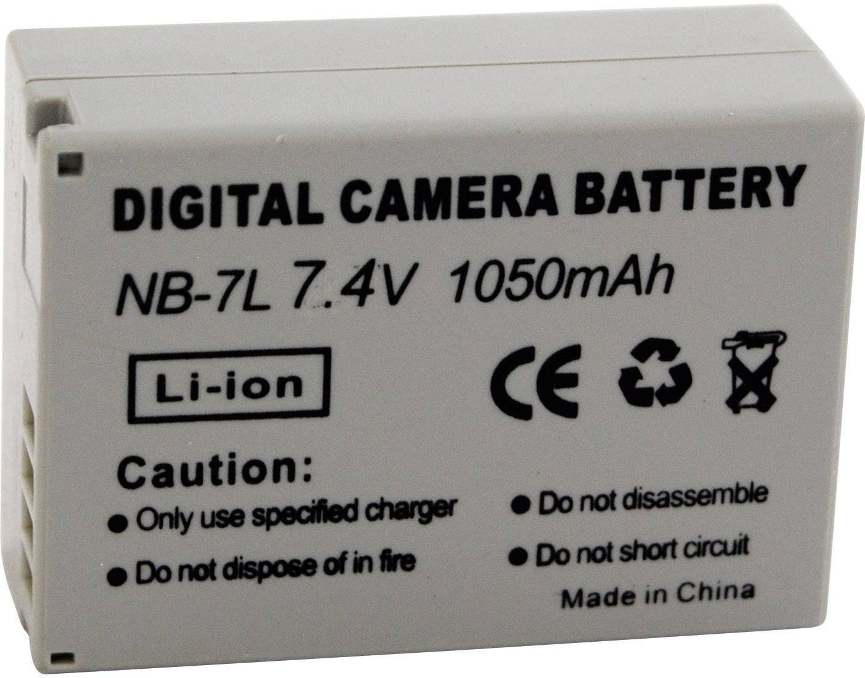 Akumulátor do kamery Conrad energy 200268 200268, 650 mAh
