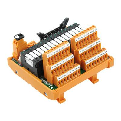 Deska s relé Weidmüller RSM-16 PLC C 1CO Z 1129020000