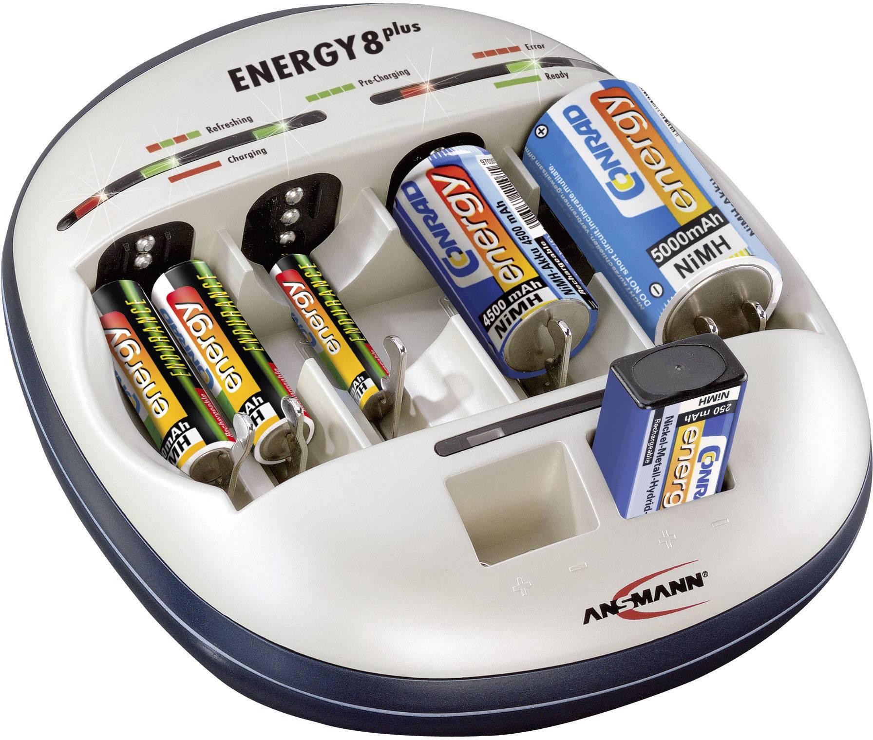 9 V nabíjačka Ansamnn Energy 8 plus