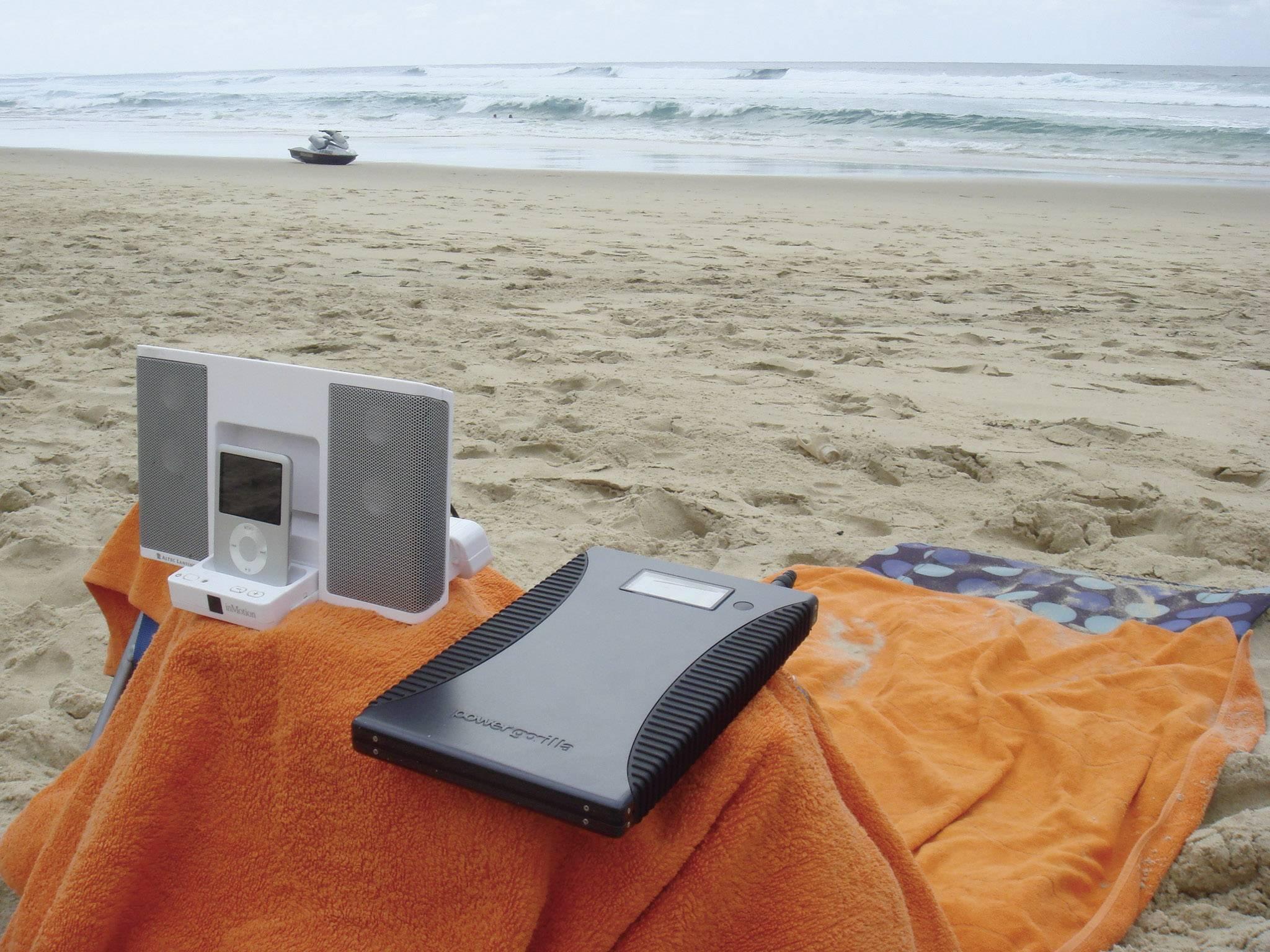Mobilní powerbanka Powertraveller Powergorilla, Li-Pol 21000 mAh