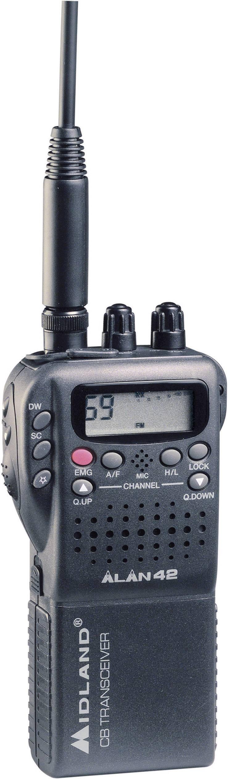 CB rádiové zariadenie Alan 42 Multistandard