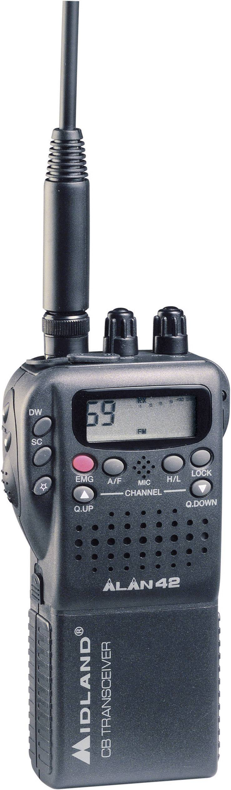CB radiostanice Alan 42 Multistandard