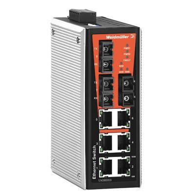 Průmyslový ethernetový switch Weidmüller, IE-SW-VL09T-6TX-3SC
