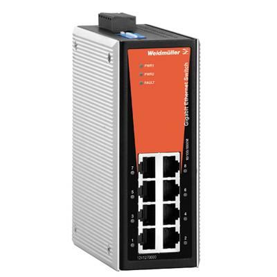 Průmyslový ethernetový switch Weidmüller, IE-SW-VL08-8GT