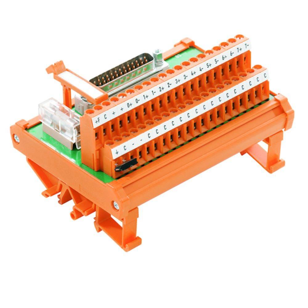 Předávací prvek 1 ks Weidmüller RS 8 AIO DP SD S 50, 25 V/DC, V/AC (max)