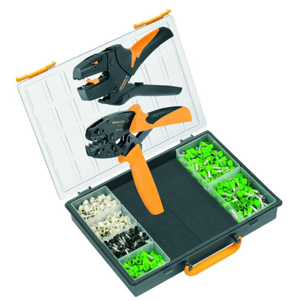 Sada nástrojů a vybavení pro krimpování Weidmüller TOOL SET COMBI CHECK 9201650000