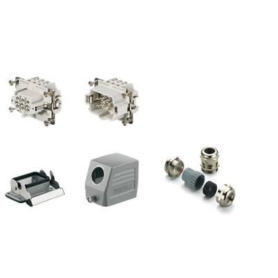 Sada konektoru RockStar® HDC HE Weidmüller 1712460000 1 ks