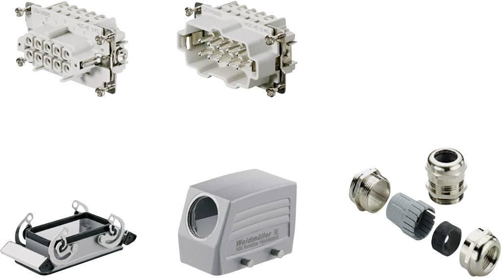 Sada konektoru RockStar® HDC HE Weidmüller 1712510000 1 ks