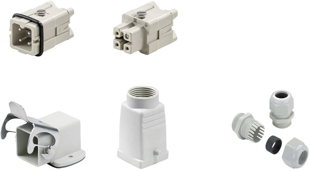 Sada konektorů RockStar® HDC HA Weidmüller 1712630000 1 ks