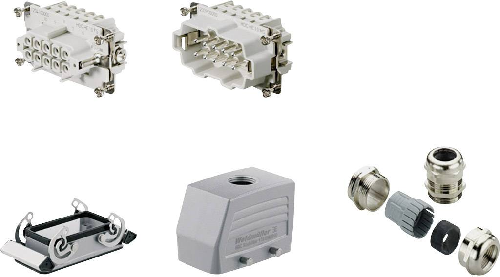 Sada konektorů RockStar® HDC HE Weidmüller 1712670000 1 ks