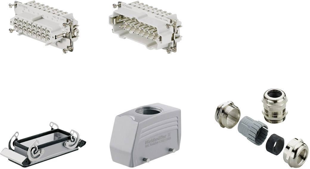 Sada konektoru RockStar® HDC HE Weidmüller 1712680000 1 ks