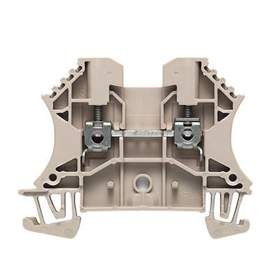 W-Series, Feed-through terminal, Rated cross-section: 4 mm², Screw connection, Direct mounting WDU 4/ZZ BL Weidmüller Množství: 50 ks