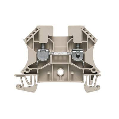 W-Series, Feed-through terminal, Rated cross-section: 4 mm², Screw connection, Direct mounting WDU 4 GE/SW Weidmüller Množství: 100 ks