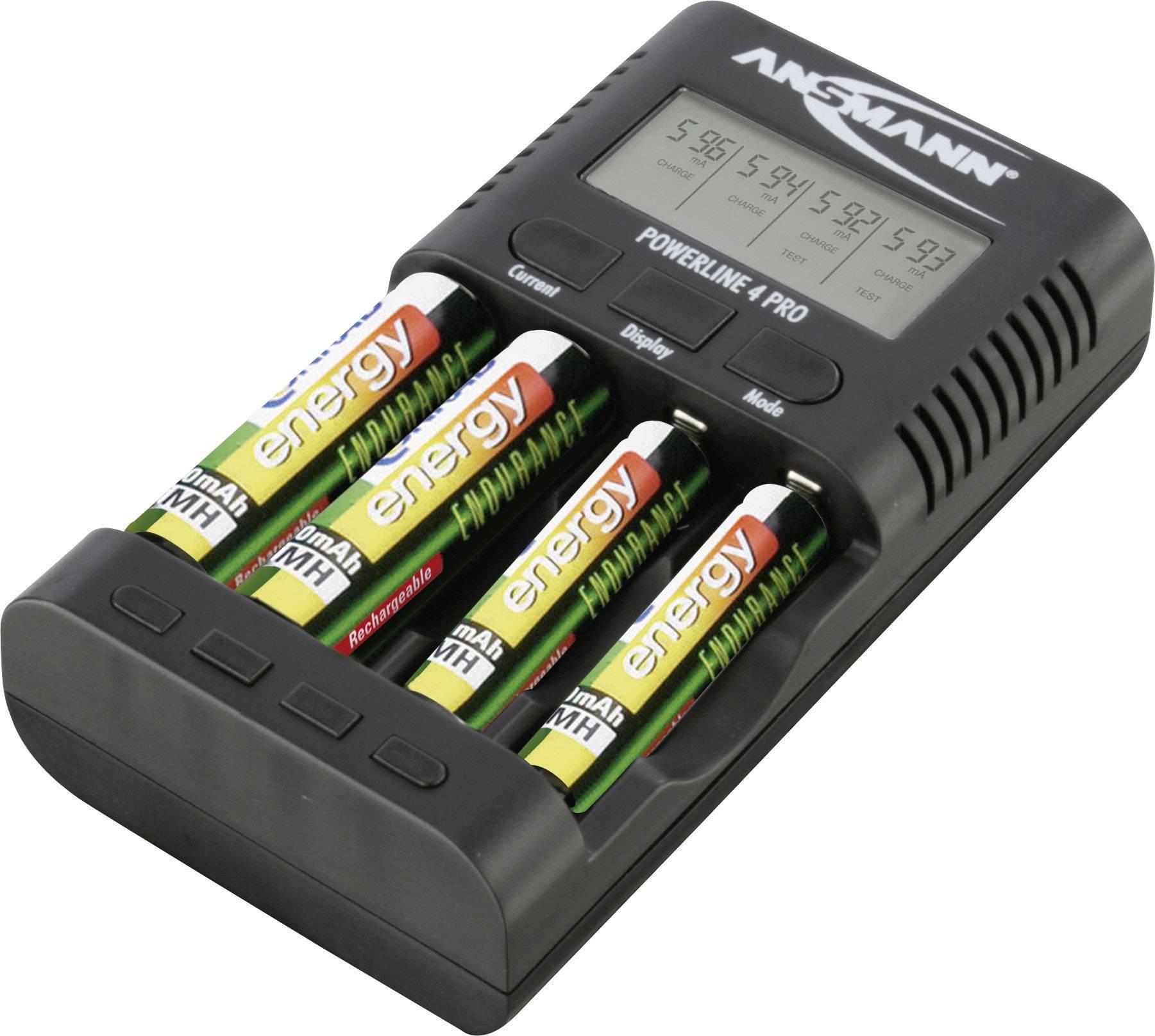 Nabíjecí stanice NiMH/NiCD Ansmann Powerline 4 Pro