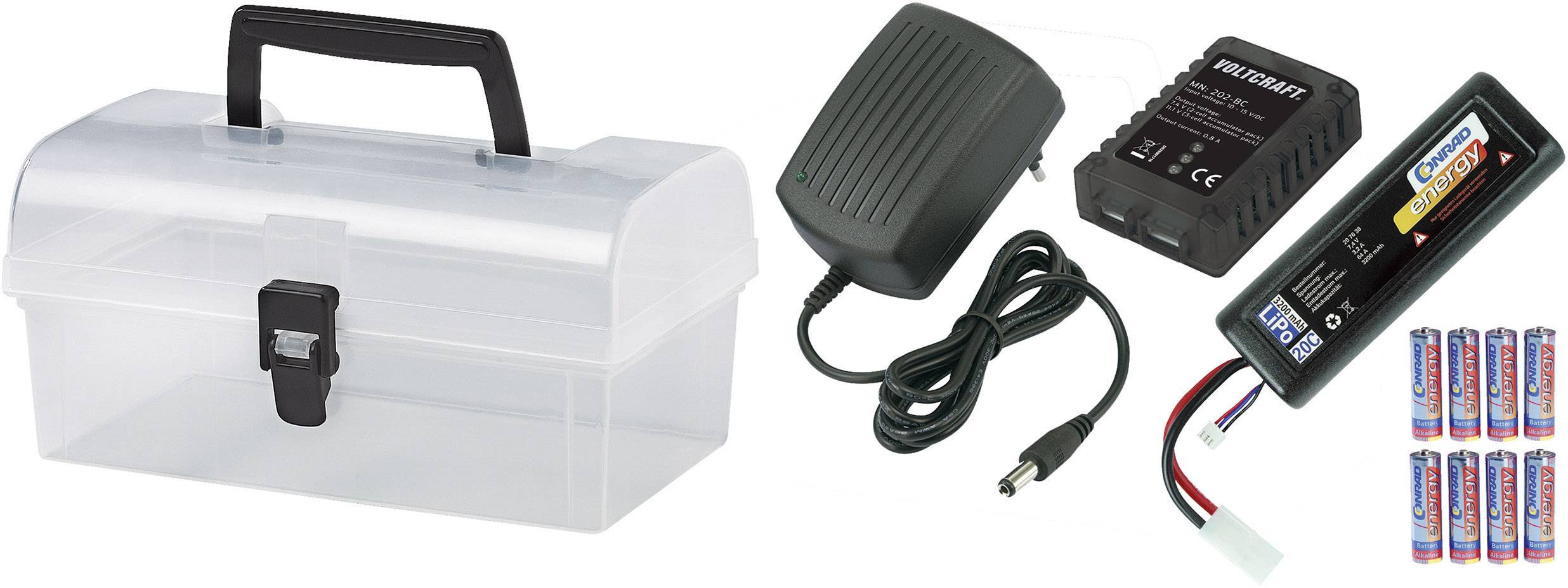 Tuningový kufrík s elektro dielmi pre brushless motory, Reely 205530
