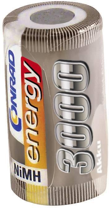 NiMGH Sub-C jednotlivé články 3000 mAh Conrad energy