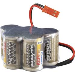 Akupack přijímače NiMH LRP Electronic 2/3 A, 6 V, 1500 mAh, Hump, JR