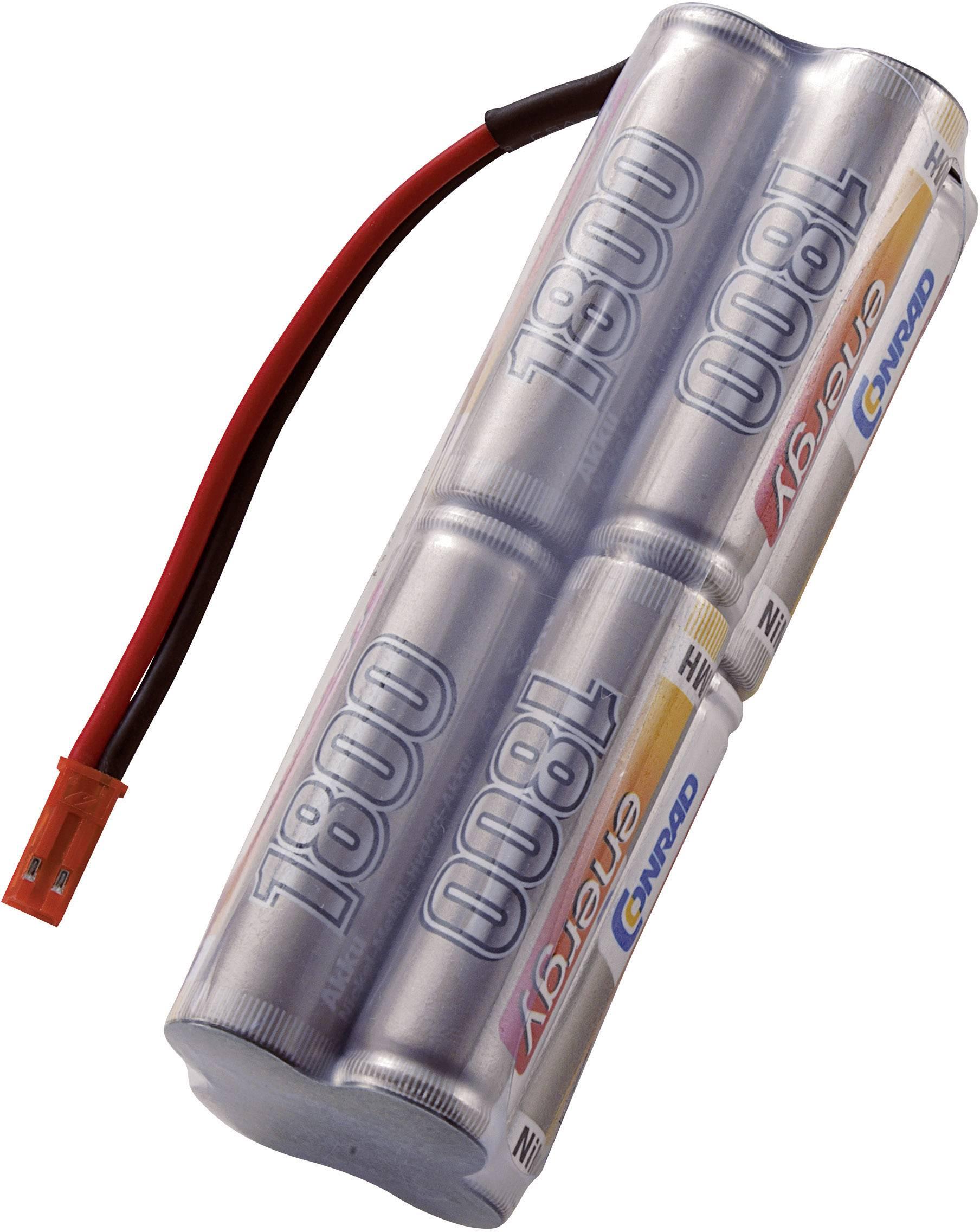 Akupack NiMH Conrad Energy AA, 9,6 V, 1800 mAh, Block, BEC