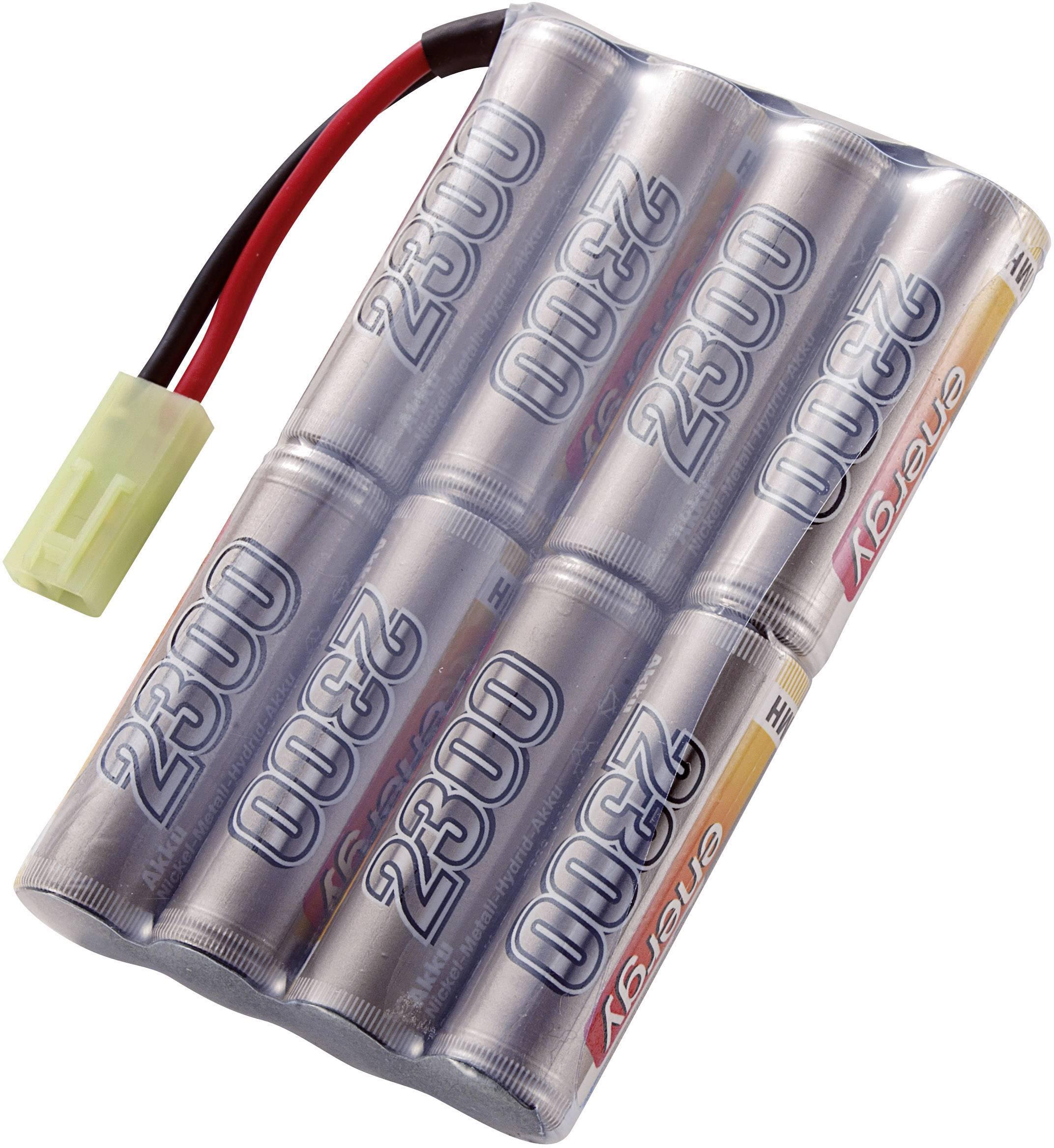Akupack NiMH (modelářství) Conrad energy 206672, 9.6 V, 2300 mAh