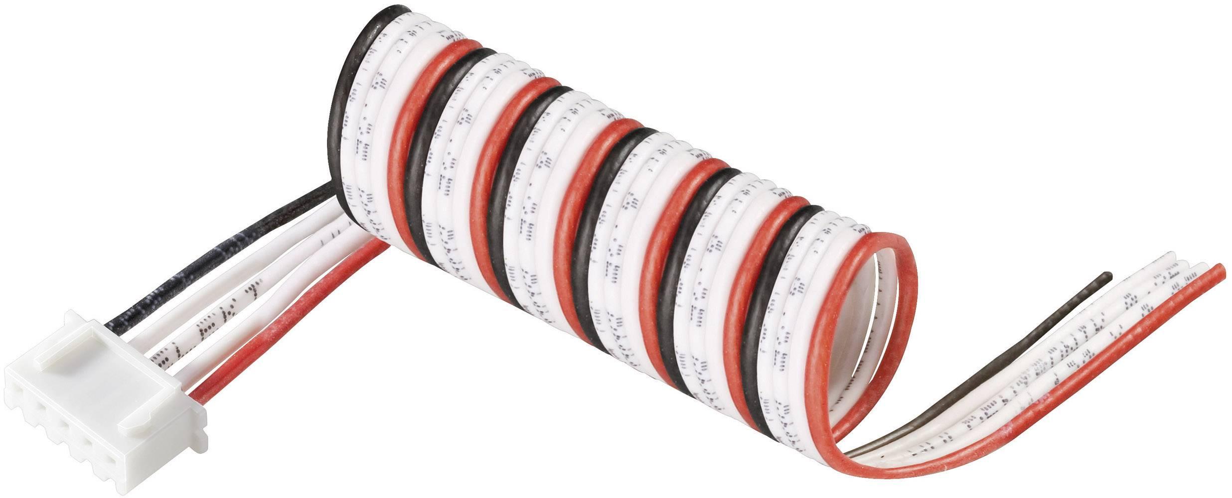 Připojovací kabel Modelcraft, pro 4 LiPol články, zásuvka XH
