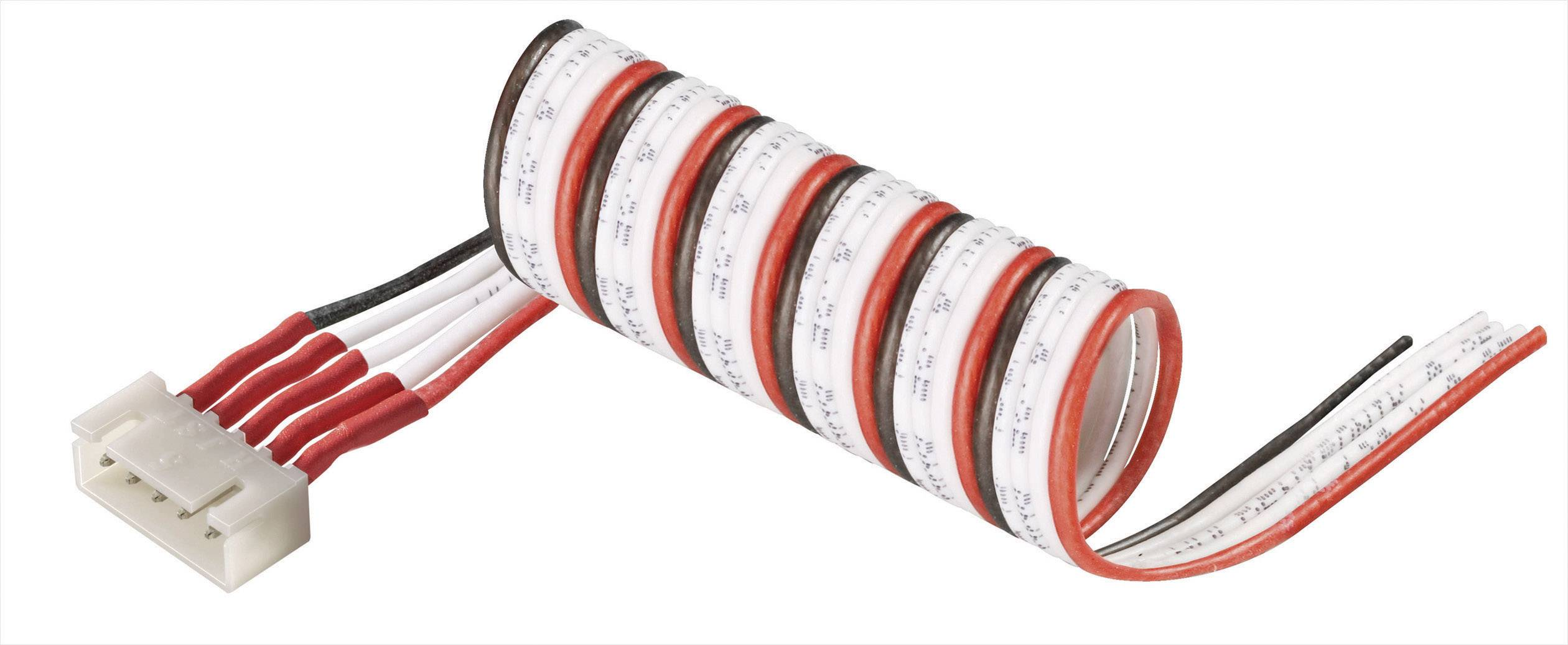 Připojovací kabel Modelcraft, pro 2 LiPol články, zástrčka XH