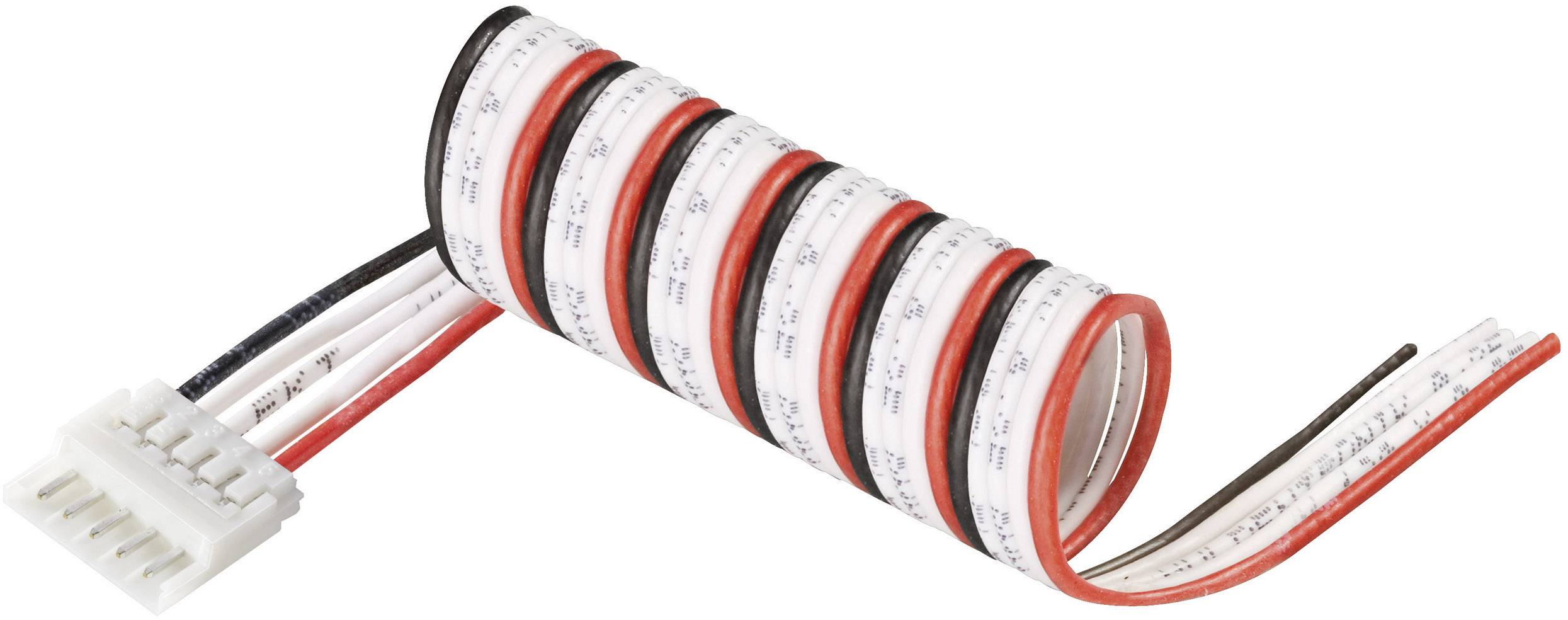 Připojovací kabel Modelcraft, pro 4 LiPol články, zástrčka EH