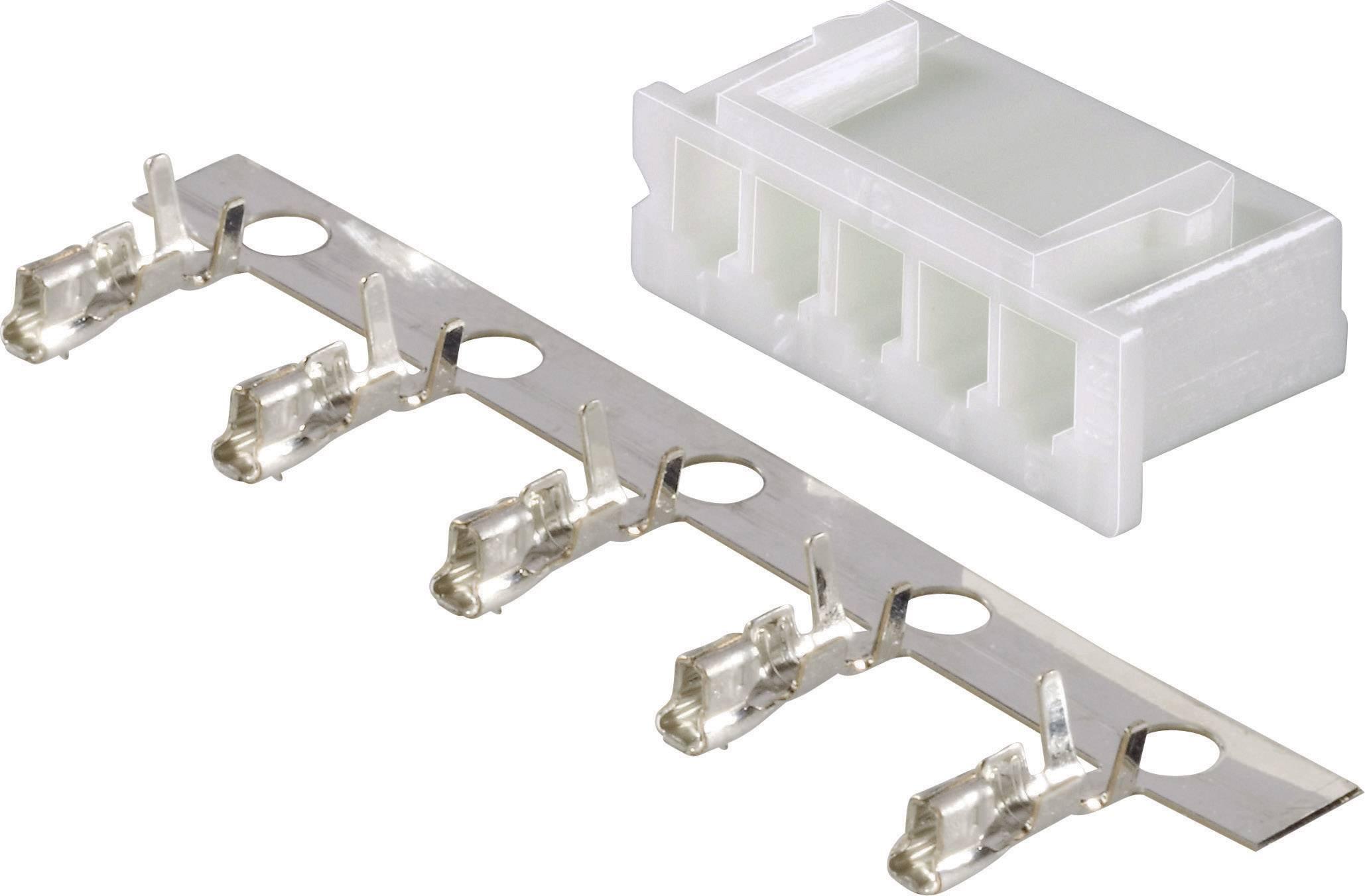 Konektor Li-Pol Modelcraft, zásuvka XH, 4 články