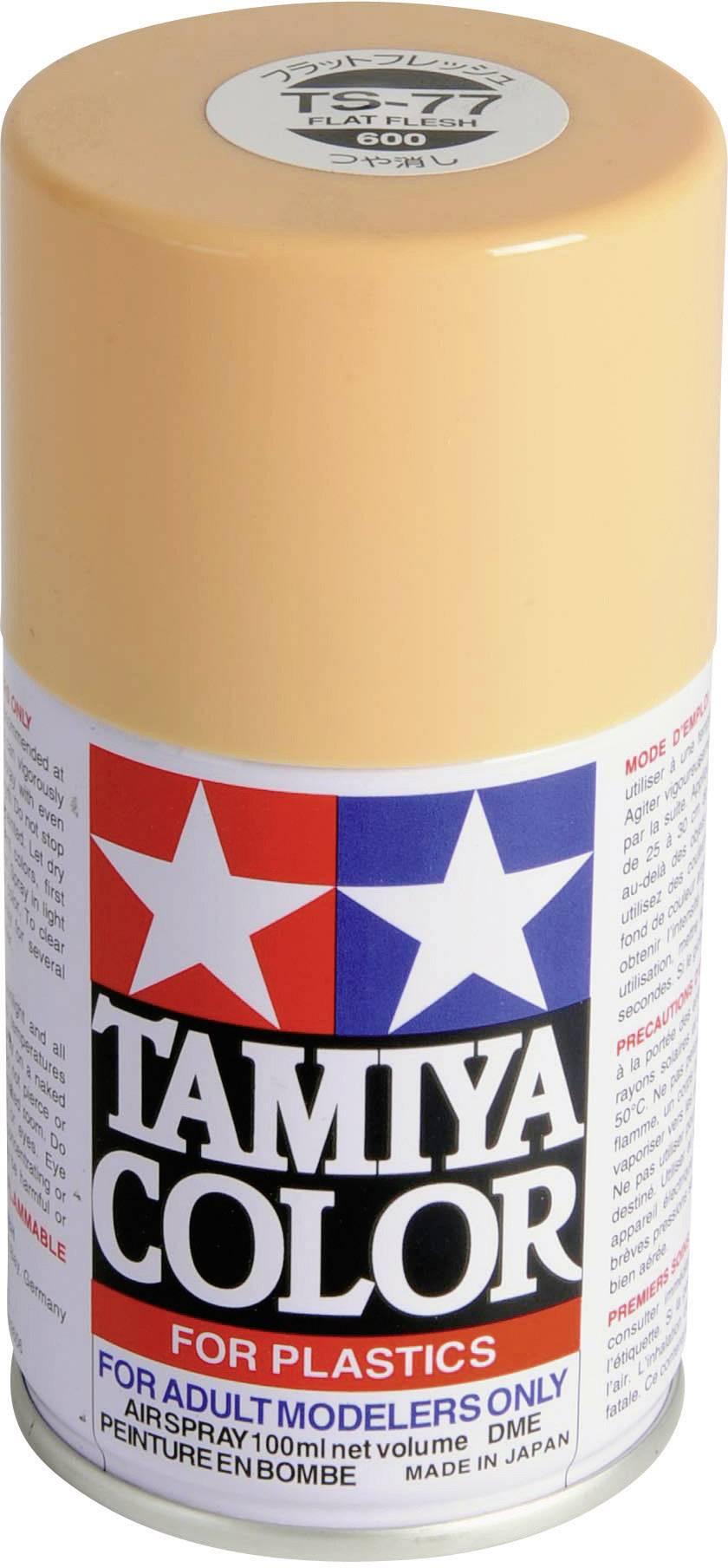 Akrylová farba Tamiya čierna (hodvábne matná) TS-29 sprej 100 ml