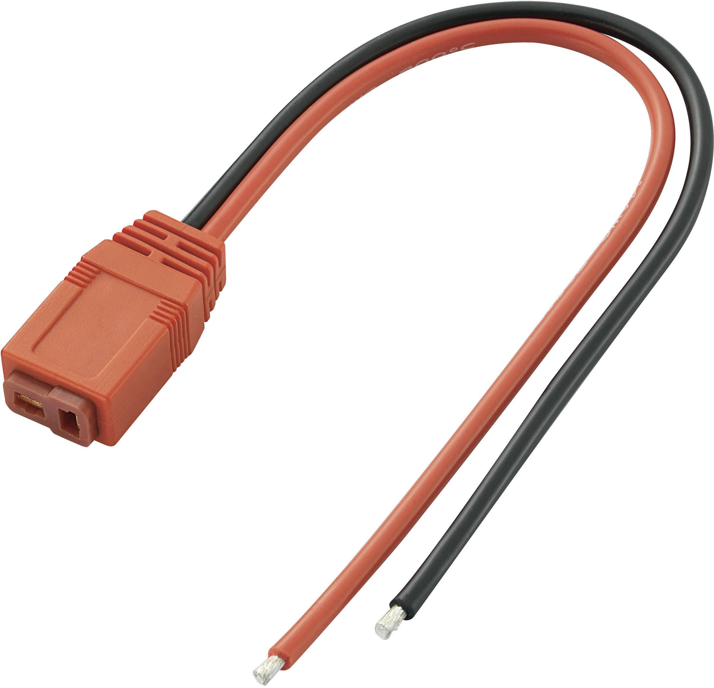 Napájecí kabel pro vyšší odběr Voltcraft, T zásuvka, 200 mm, 4 mm²