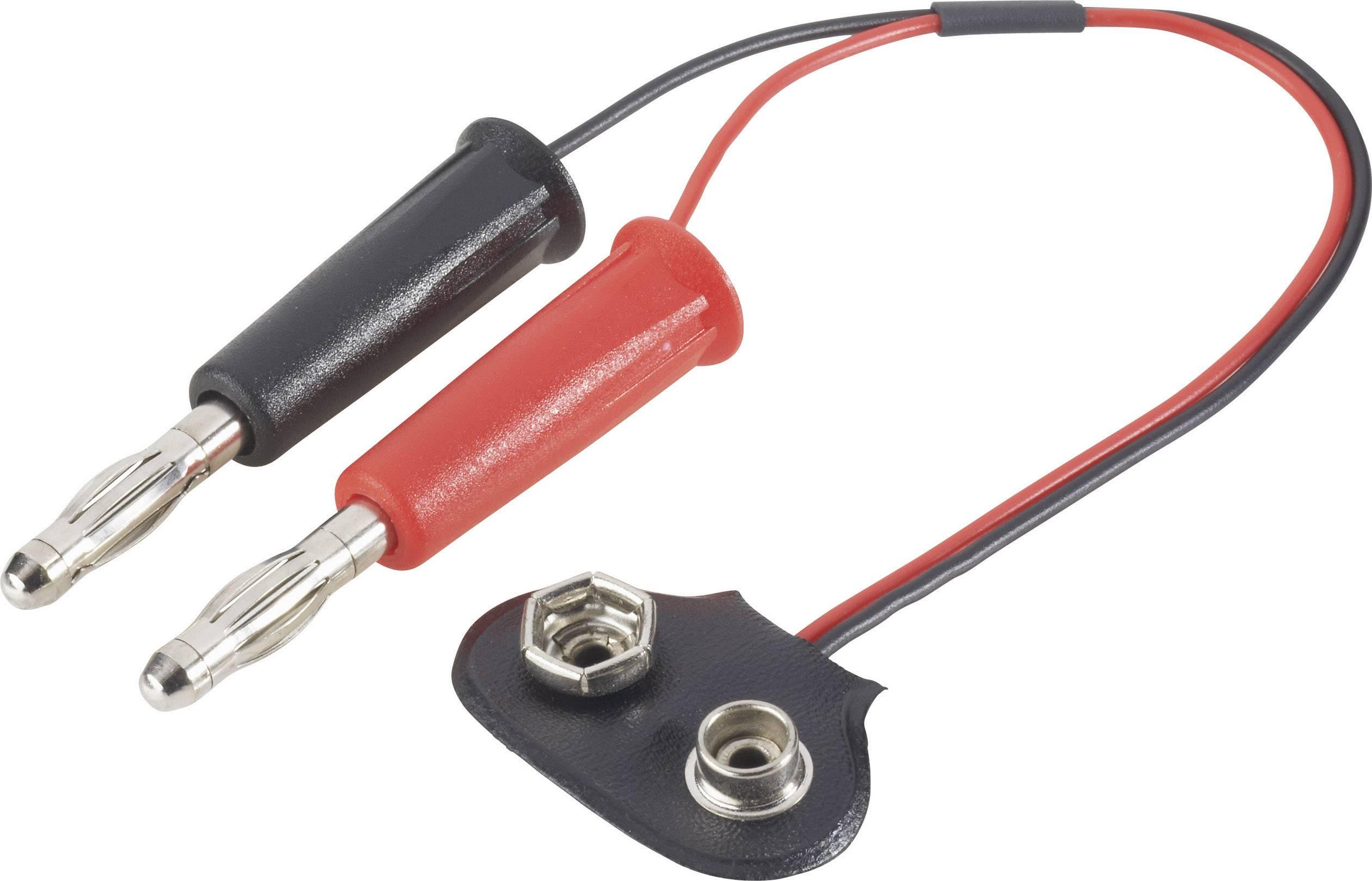 Nabíjecí kabel Modelcraft 208286, [2x banánková zástrčka - 1x ], 250 mm, 0.25 mm²