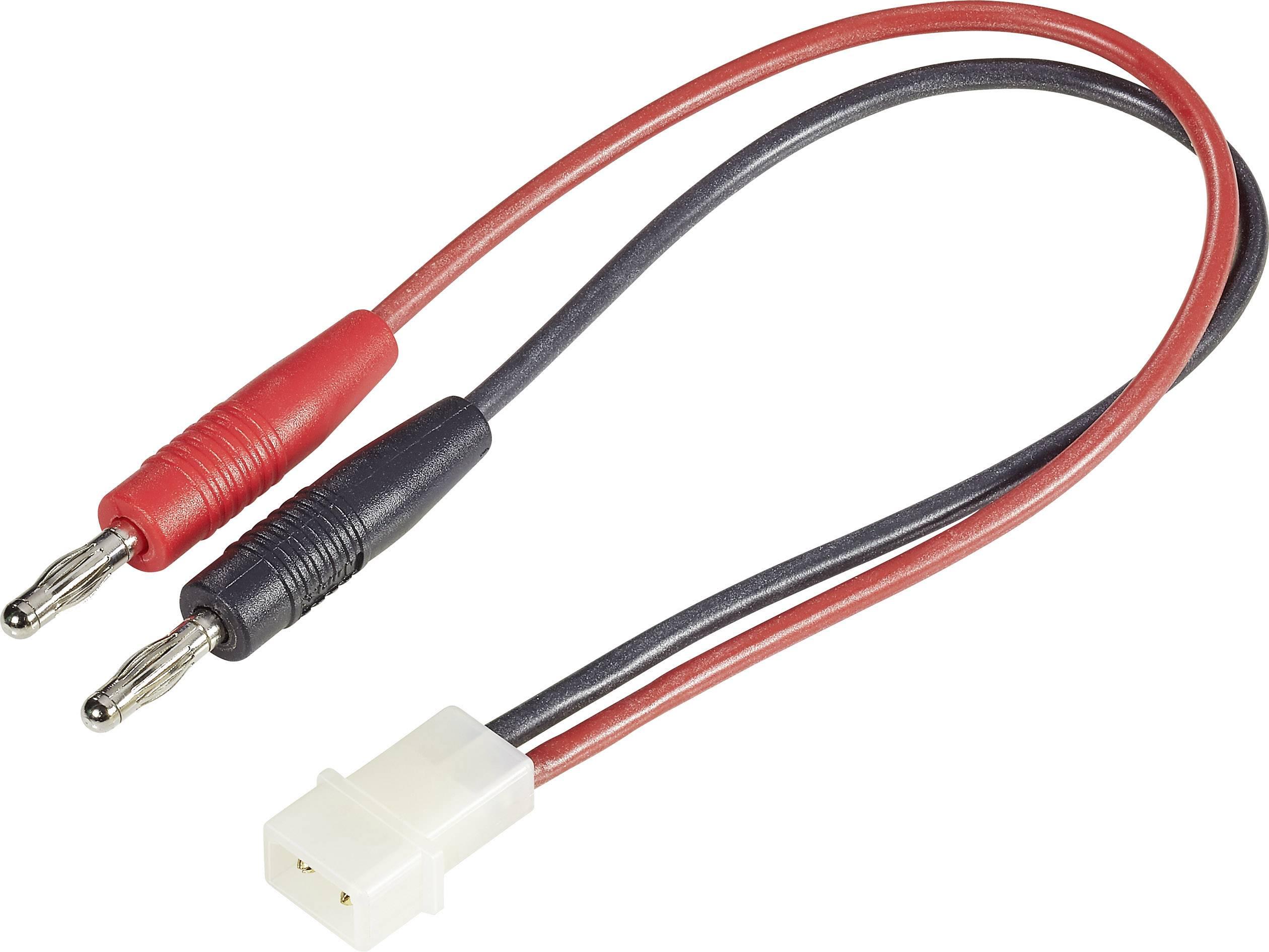Nabíjací kábel Modelcraft 208294, [2x banánková zástrčka - 1x ], 250 mm, 2.5 mm²