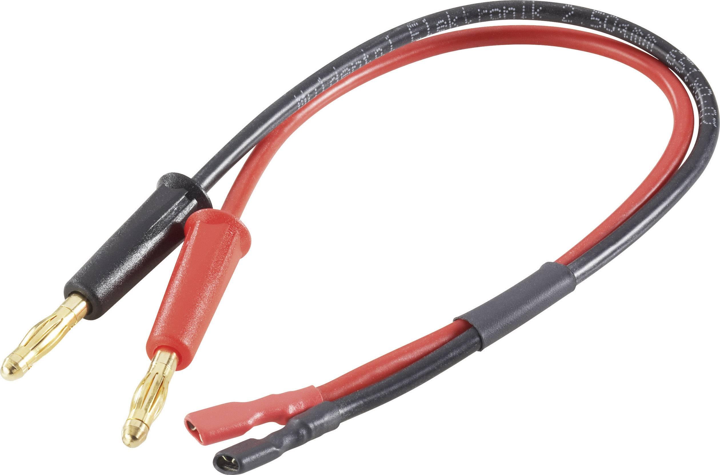 Napájecí kabel pro olověné akumulátory Modelcraft, 250 mm, 2,5 mm²