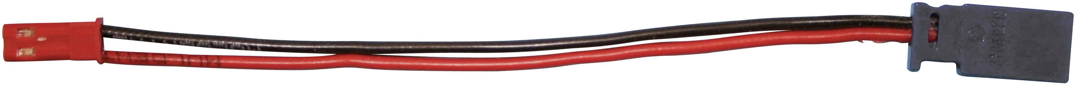 Redukce BEC zásuvka / Futaba zástrčka Modelcraft, 100 mm, 0,5 mm²