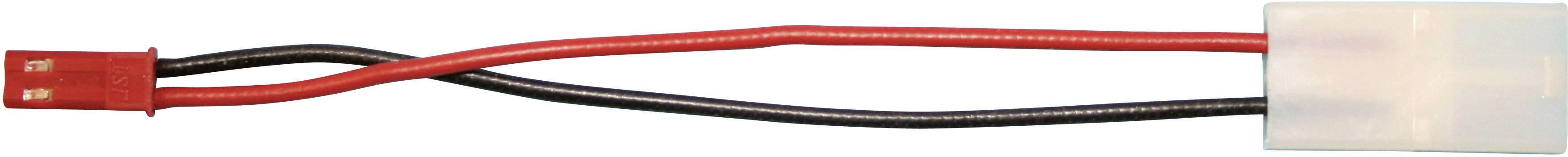 Redukce BEC zásuvka / Tamiya zástrčka Modelcraft, 100 mm, 0,5 mm²