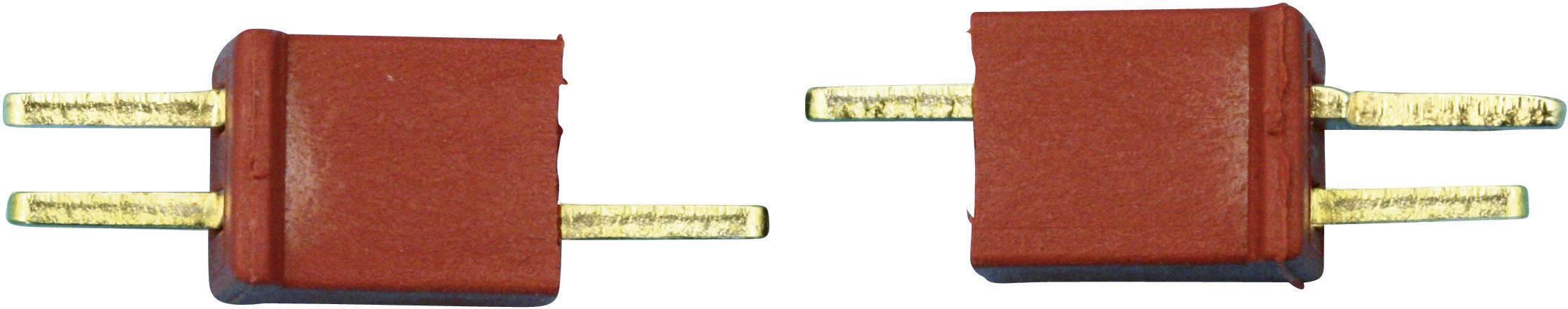 Zásuvkový konektor k prepojeniu akumulátora a regulátora RC modelu, zástrčkový konektor k prepojeniu akumulátora a regulátora RC modelu Modelcraft 71307, 1 pár