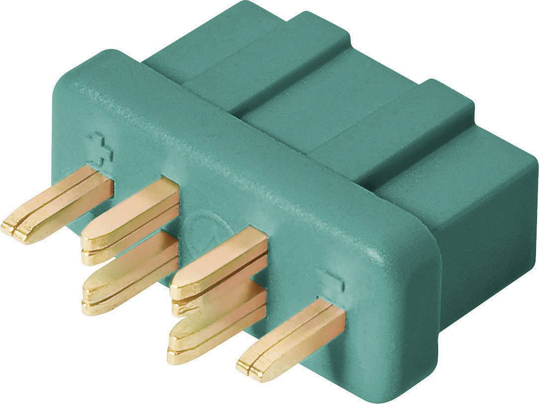 Zástrčkový konektor k prepojeniu akumulátora a regulátora RC modelu Modelcraft 71271, MPX, 1 ks