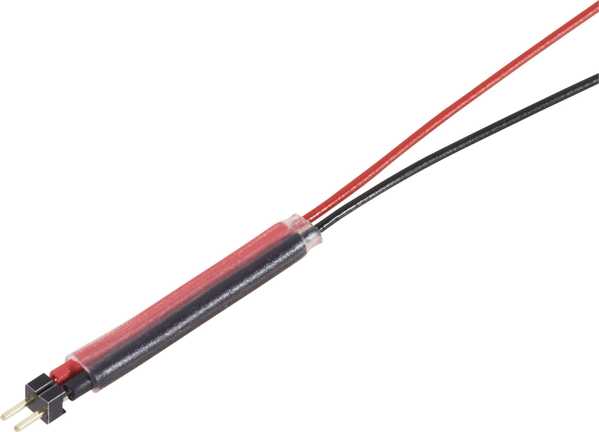 Napájecí kabel Modelcraft, zásuvka, Minimum RM 1,27 mm, 300 mm, 0,08 mm²