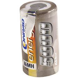 Slot pre akumulátor Sub-C 1.2 V, 5000 mAh, Conrad energy 208580