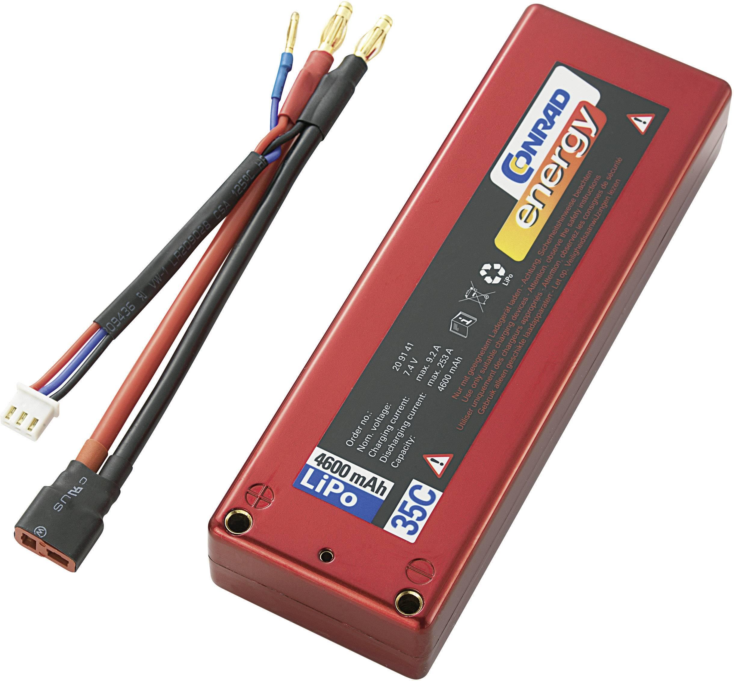 Akupack Li-Pol Conrad energy 209141, 7.4 V, 4600 mAh