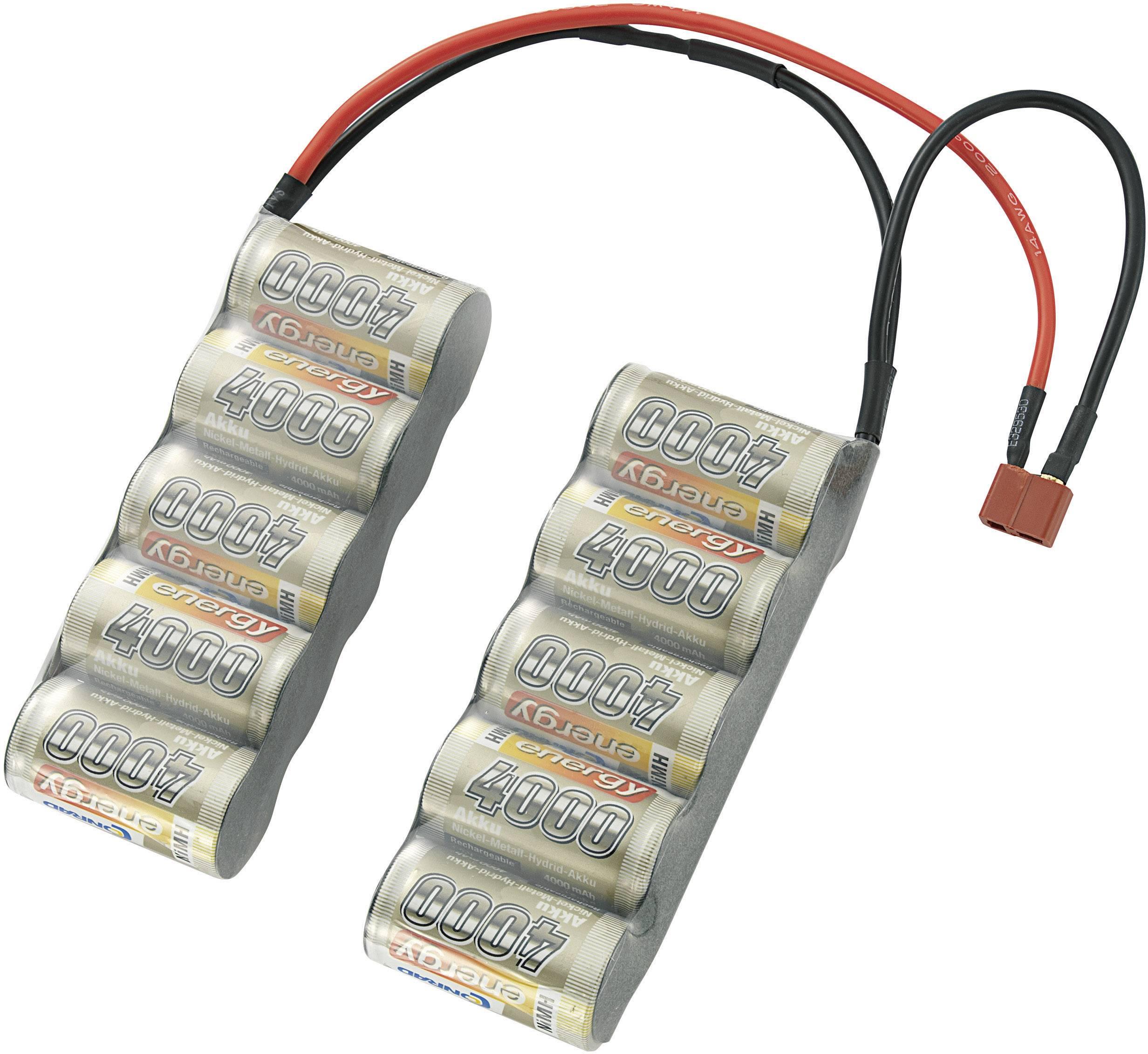 Akupack NiMH Conrad energy 209314, 12 V, 4000 mAh