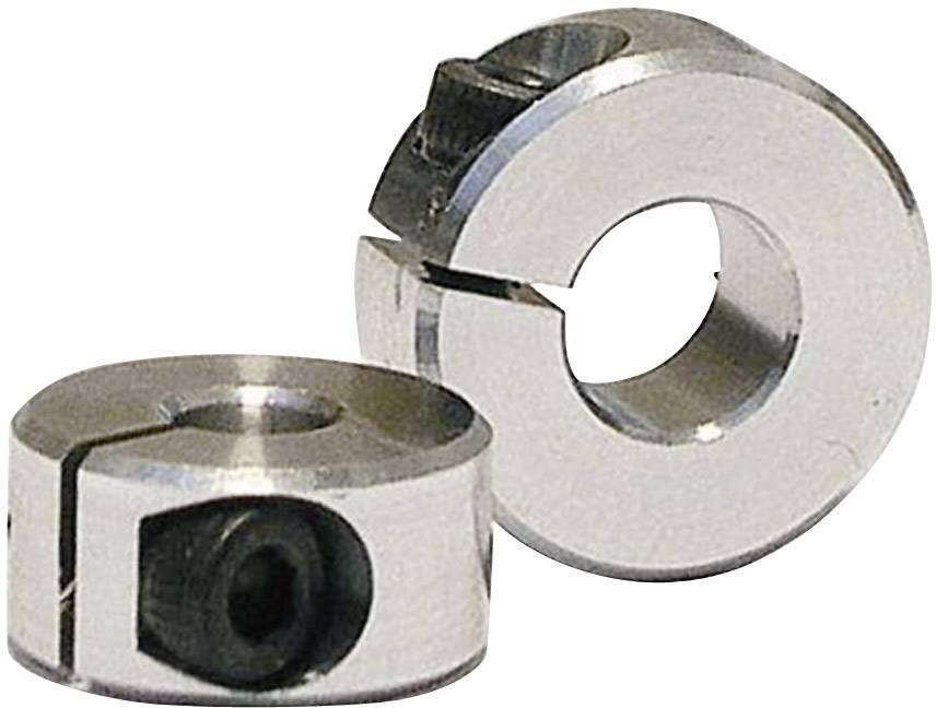 Hliníkový upínací kroužek Modelcraft, 6 mm, M2.5, pro hřídel 8 mm, 1 pár