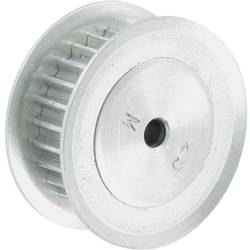 Ozubená řemenice hliníková Modelcraft, 25 zubů (4 mm)