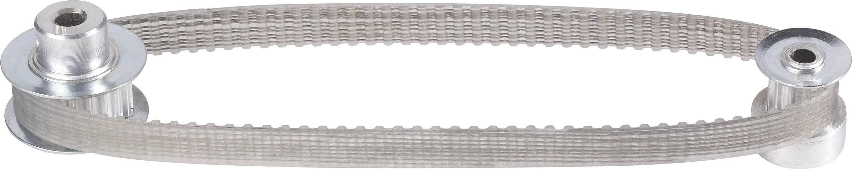 Ozubený řemen Modelcraft, 98 zubů, 245 mm