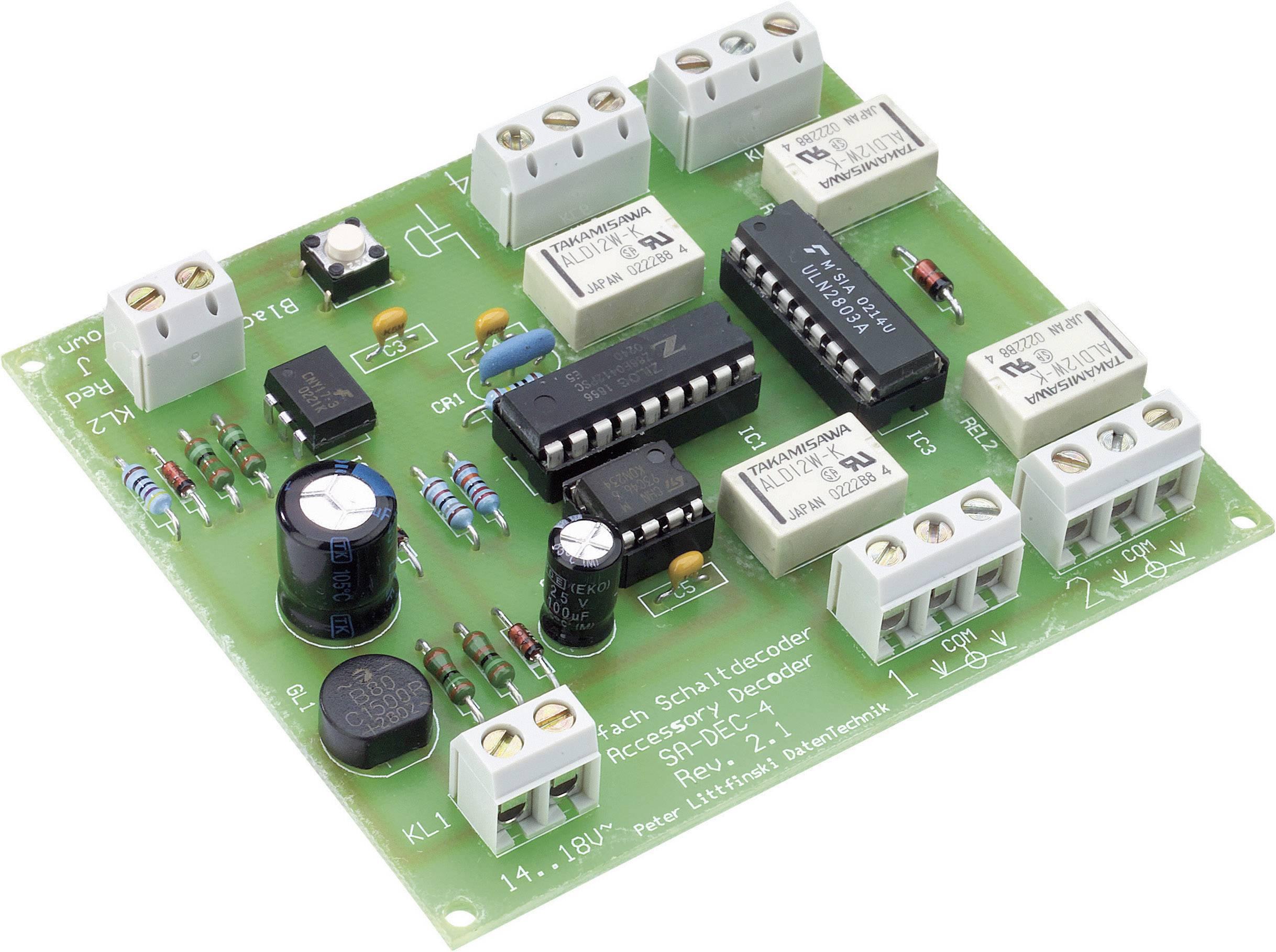 Elektronika k modelové železnici