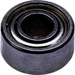 Radiální kuličkové ložisko Modelcraft nerezové Modelcraft, 2 x 6 x 2,3 mm