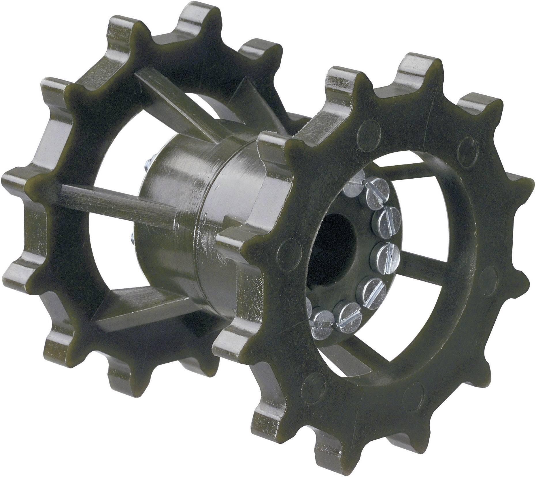 Dvojité řetězové kolo Modelcraft, Ø 12 mm