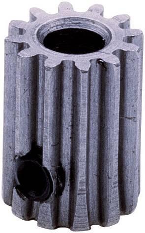 Ocelové ozubené kolo Modelcraft, 10 zubů, M1, otvor 6 mm