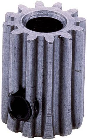 Pastorek motoru Modelcraft, 12 zubů, M0.5, otvor 3,2 mm