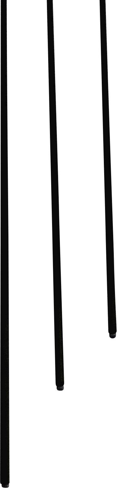 Trubkový profil, (Ø x d) 6 mm x 500 mm, vnútorný Ø: 4 mm